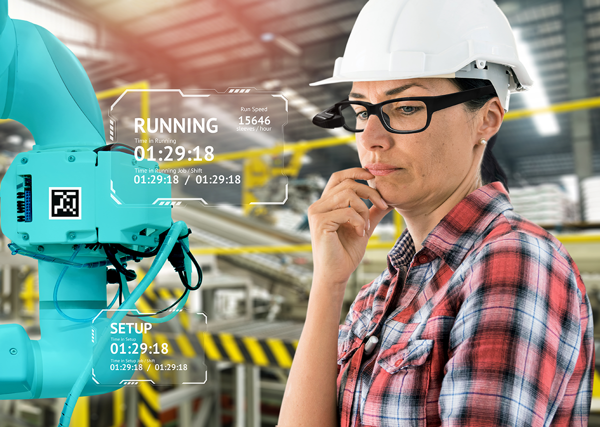 AR glasses to support on-site technicians