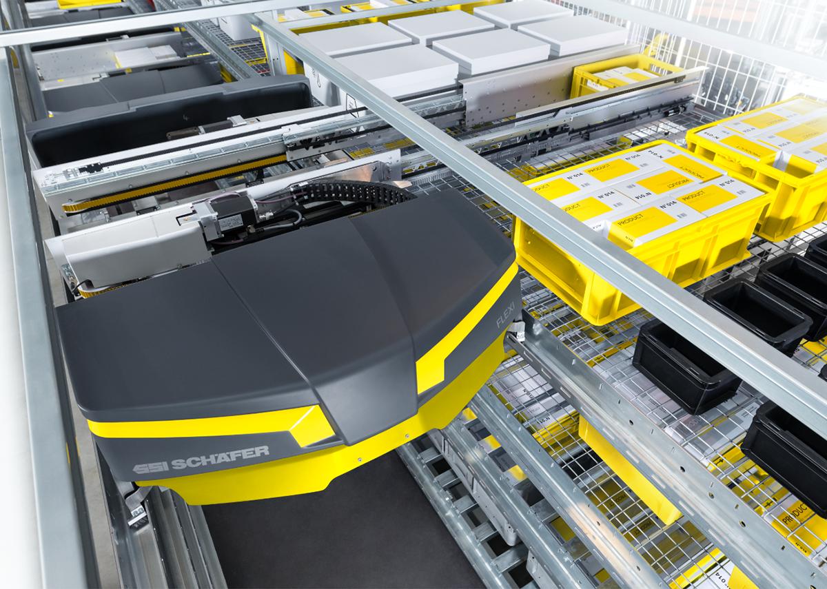 New logistics center for supermarket chain